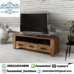 Bufet Tv Minimalis Jati Terbaru Modern