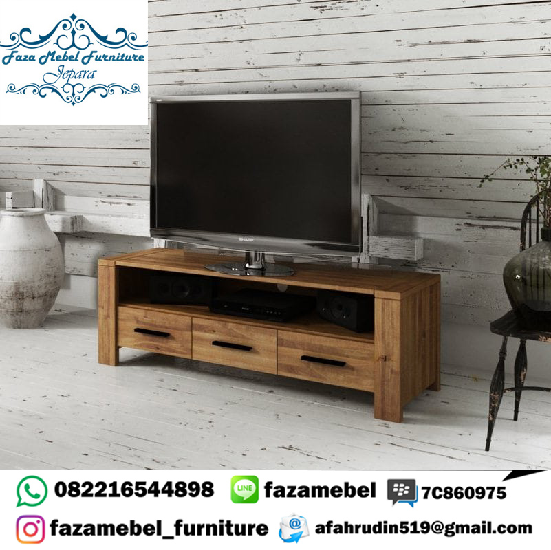 Bufet-Tv-Minimalis-Jati-Terbaru-Modern (1)